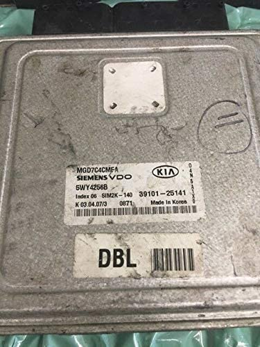 ECM fits National products 2006-2007 Kia Spring new work one after another ecu Optima 39101-25141 computer