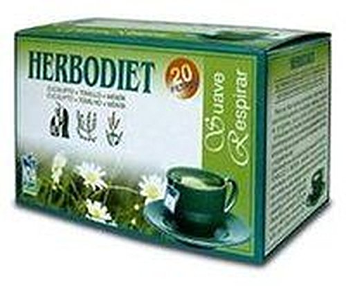 Herbodiet Infusiones Suave Respirar 20 filtros de Nova Diet