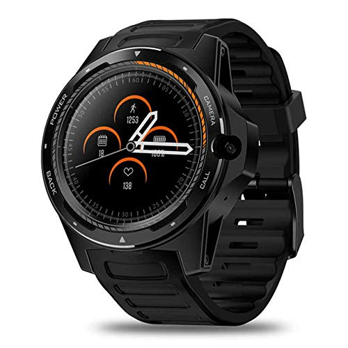 Smartwatch,1.39'' 4G,Voller Touch Screen,Fitness Tracker,wasserdichte Sportuhr,Fitness Armband Uhr,Schlafmonitor,Schrittzähler,Anwendbar Auf Android Apple Ios,Black