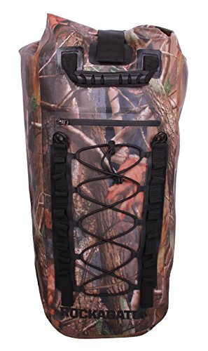 Rockagator GEN3 RG-25 40 Liter Waterproof Dry Bag Backpack (CAMO) (Old Version)