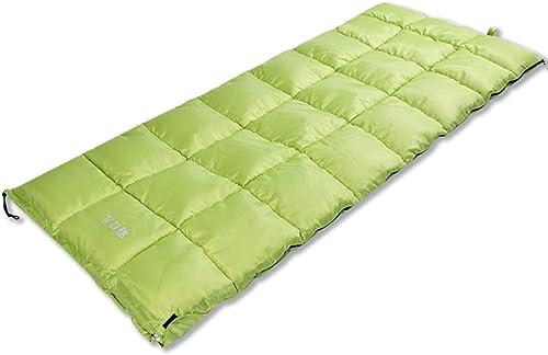 Sac de couchage Guo Doux extérieur Plus épais Flanelle élargie Adulte Camping