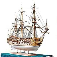 木製モデル、ウォータークラフトモデルビルディングキット船モデルボートキットアセンブリモデルキットクラシックな木製帆船モデルセントフィリップ船