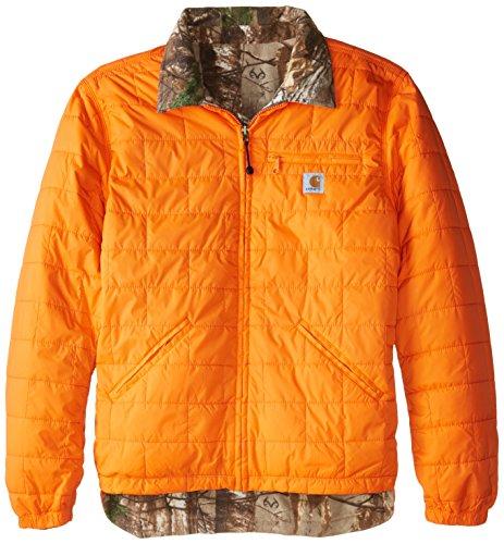 Carhartt Herren Jacke Woodsville Big & Tall - Orange - Large Hoch