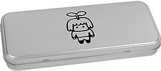 Azeeda 'Sprout Man' Metal Hinged Stationery Tin / Storage Box (TT00083948)