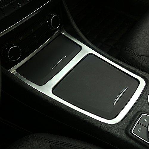 Cadre chromé mat pour boîte de rangement centrale et cendrier, accessoire décoratif d'intérieur pour Mercedes-Benz CLA, GLA, Classe A, W117, C117, W176, A180, années 2013–2017