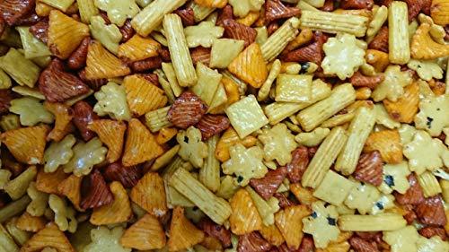 Reiscracker Mix 1 kg | Fuji Mix Salzige Reis-Snacks | knusprige Cracker mit feinem Paprika Salzgeschmack | Gesunder Snack in hoher Qualität für ausgewogene Ernährung | Dorimed