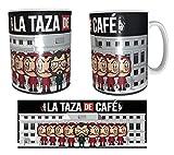 Los Eventos de la Tata. Tazas de la Casa de Papel. LA Taza de Caf
