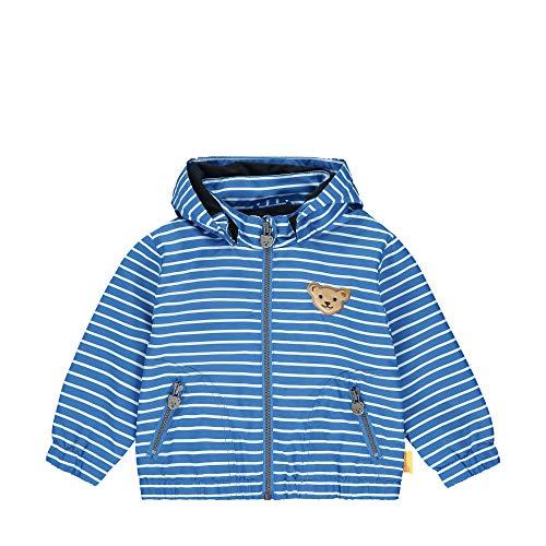 Steiff Jacke Jacket, Bleu (Skydiver 6040), 2 Mois Fille