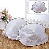 2 Stück Wäschenetz wäschesäcke für waschmaschine Schuhe Waschbeutel Wäschesäcke aus Netzstoff...