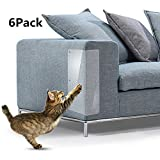 Witspace Cat Anti Scratch Guard Mat for Furniture Sofa Protector Mattress Couch Pad Protector Deterrent (6Pcs)
