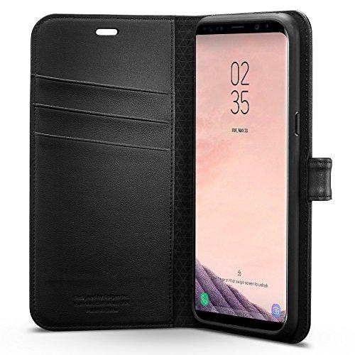 Capa Wallet S para Galaxy S8 Plus, Spigen, 571CS21687, Preto
