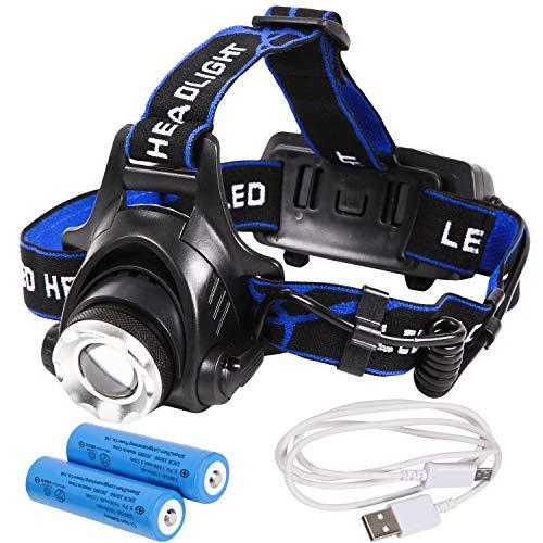 Tomo Light LEDヘッドライト 充電式 長時間型 防災特化型モデル リチウムイオン蓄電池 2本付 CMA-1005LT