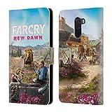 Head Case Designs Offizielle Far Cry Twins Couch New Dawn Schluessel Kunst Leder Brieftaschen Huelle kompatibel mit Xiaomi Pocophone F1 / Poco F1