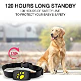 Moontie GPS Tracker for Dogs, Dogs GPS Collar with Activity Monitor, Unlimited Range Tracking Device for Call Function, Waterproof Locator suit for Pet, Dog, Cat