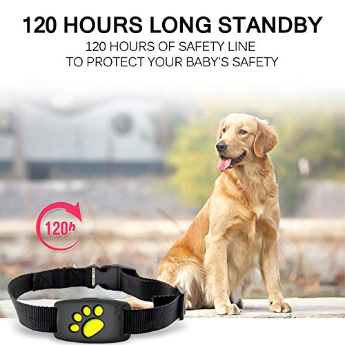 LMTXXS GPS Tracker for Dogs, Dogs GPS Collar with Activity Monitor, Unlimited Range Tracking Device for Call Function, Waterproof Locator Suit for Pet, Dog, Cat