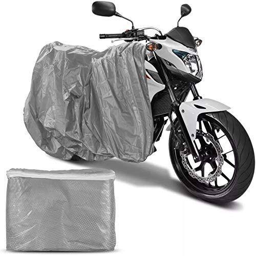 Capa Para Cobrir Motocicleta Moto Impermeável Com Forro Tnt Tamanho M