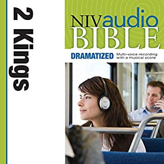 NIV Audio Bible: 2 Kings (Dramatized) cover art