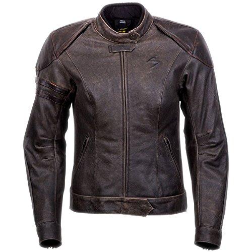 ScorpionExo Catalina Women's Leather Motorcycle Jacket (Brown, Medium)