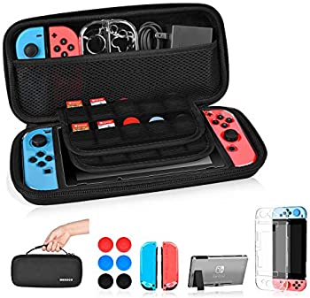 MESOCO Nintendo Switch Case 3 in 1 Accessories w/Game Card Slot Holder
