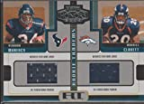 2005 Playoff Honors Vernand Morency/Maurice Clarett Dual Rookie Jersey Football Card #RT-14