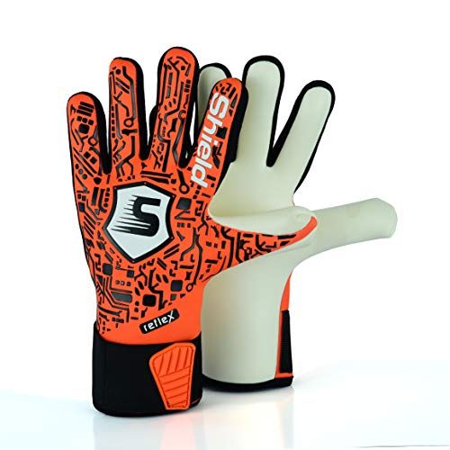 Shield Guantes De Portero Adulto Junior Chico PROTRON (Naranja, 11)