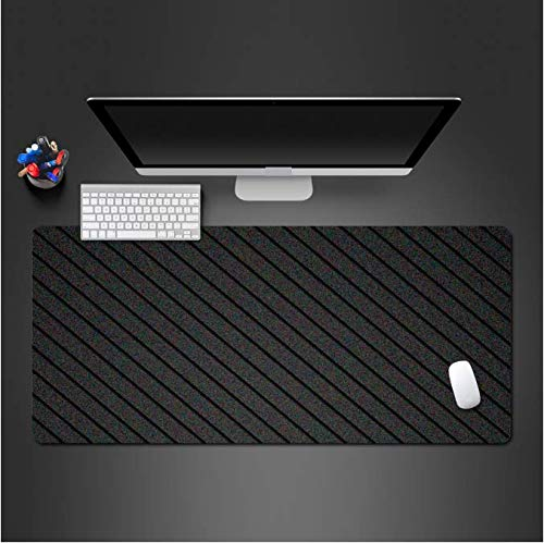 Zwarte 3D Mouse Pad Game Computer Competitie Snelle Grote Spelen Pad Familie Pc Game Mousepads 30 * 80Cm
