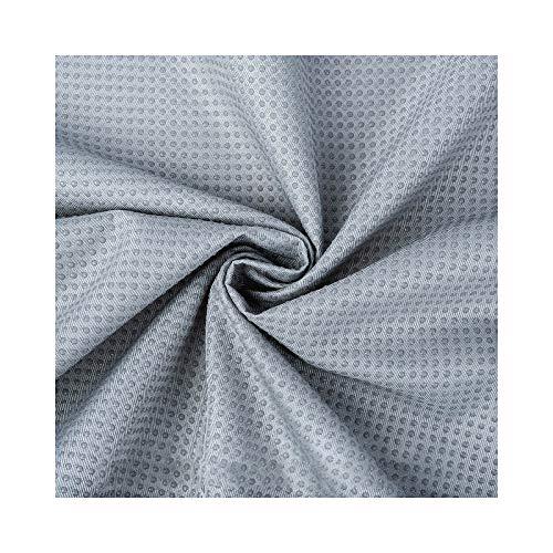 Lanpangzi Tela Antideslizante, Dispensación De PVC Cifrado Engrosamiento Artesanía Sofá Tela De Tapicería Material De Costura Se Vende por Metro(Size:Doble Cara,Color:Gris)