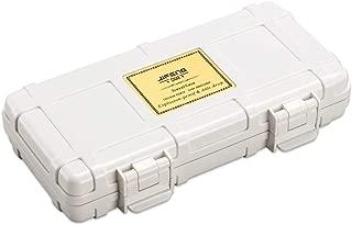 JFYHZ Cigar Box Portable Travel Cedar Wood Cigar Box humidifier Solid Wood 2 Sticks (Color : White)