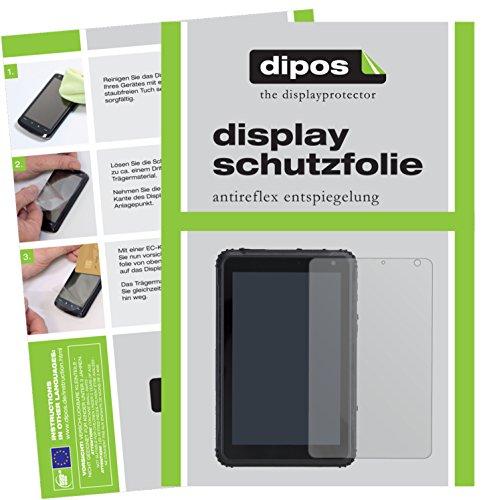 dipos I 2X Schutzfolie matt kompatibel mit Caterpillar T20 Folie Bildschirmschutzfolie