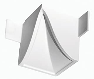 Focal Point 21600 5 7/8-Inch Quick Clips System B Inside Corner Block 4-Inch by 4-Inch by 4 1/2-Inch, White