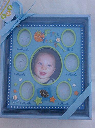 Baby My First Year Milestone Photo Frame