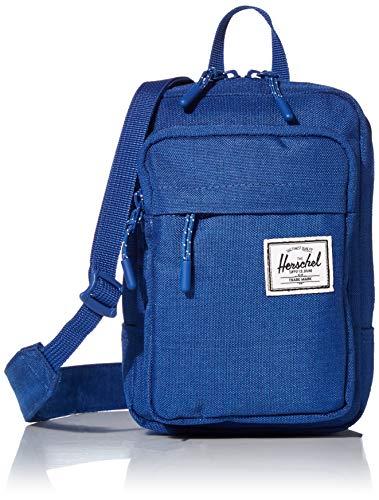 Herschel supply Grand sac à bandoulière unisexe, Monaco Blue Crosshatch (Bleu) - 10568-03262-OS