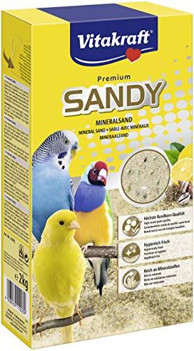 Vitakraft Vogelsand Premium Sandy Mineralsand, 1x 2kg