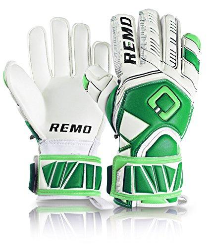 REMO Sports Guarda Fingersave Latex Torwarthandschuhe (grün, 10)