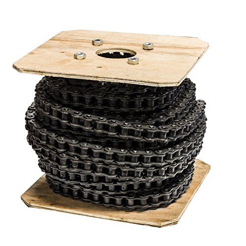 Jeremywell 40 Roller Chain 100 Feet with 10 Connecting Links