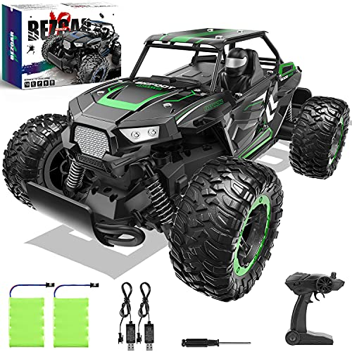 BEZGAR 18 Toy Grade 1:14 Scale Remote Control Car, 2WD High Speed 20 Km/h All Terrains Electric Toy Off Road...