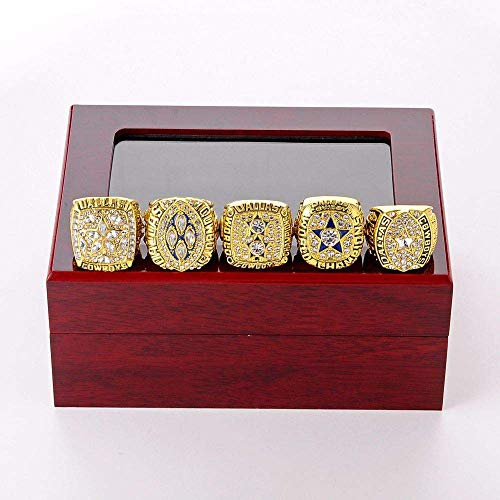 G-J Champion Rings Sports Fans Collection Memorial Heren High-End Collections Alloy Rings, Goud, 12