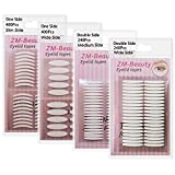 Best Eyelid Tapes - 4 Pack/960Pcs Natural Invisible Single/Double Side Eyelid Tapes Review