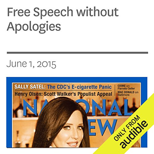 Free Speech without Apologies audiobook cover art