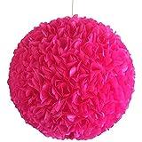 Pink Fluffy, Ø 32cm, pinke Lampe Leuchte Lampenschirm Pendellampe Pendelleuchte Hängelampe...