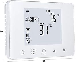 LEDLUX - Termostato digital programable para caldera de gas de pared, caja 503, calefacción por agua caliente, wifi, compa...