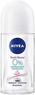 Nivea Roll On Alu Free Fresh Flower 0% Desodorante Sin Aluminio 50 ml