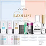 Clione Prime Lash Lift Kit - 38 Pcs Eyelash Lift Kit, 5 Times Use Eyelash Perm Kit, Suitable for Salon & Home Use - Professional Korean Semi Permanent Curling Perming Wave Kit