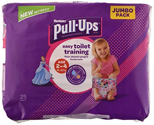 Huggies Pull-Ups Pañales de Aprendizaje 25 Unidades 832 g