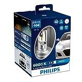 フィリップス ヘッドライト LED H4 6000K 3200/2400lm 12V 23W エクストリームアルティノン 車検対応 3年保証 2個入り PHILIPS X-tremeUltinon 12953BWX2JP