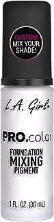 L.A. Girl Pro Matte Mixing Pigment, White, 1 Fluid Ounce