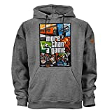 PG Wear More Than a Game Pyro Ultras Sudadera con Capucha Gris M