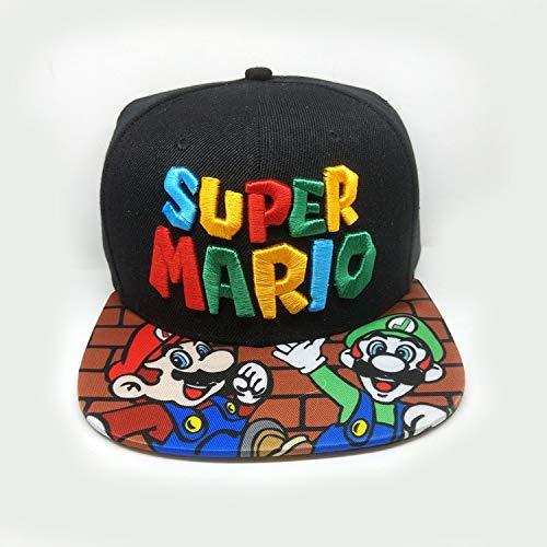 YUNXING Super Mario Hut Spiel Super Mario Bros Hut Trucker Baseball Snapback Caps Hip Hop Hüte für Erwachsene Jungen Mädchen Cosplay Cap Geschenk