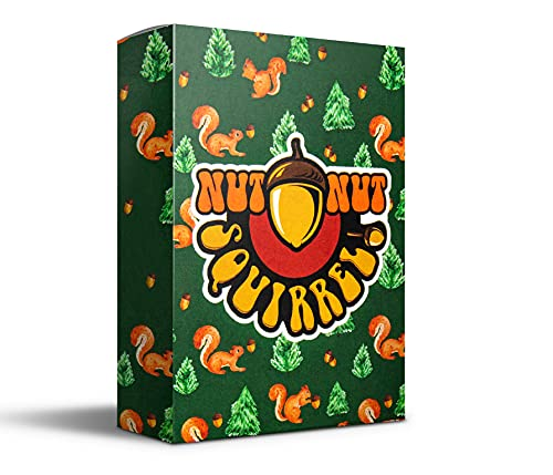 nut nut Squirrel! - Fun Card Game for Kids & Families. Outsmart Your Opponents and Keep Those...