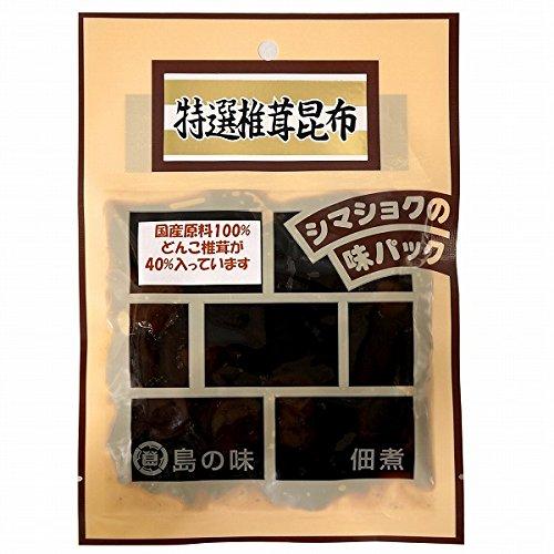 小豆島佃煮・国産どんこ使用 椎茸昆布 120g袋入り